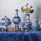 "Simple modern Hand painted oil painting on canvas""ceramics""60x90CM(23.6""x35.4"")Unframed-01"