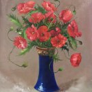 """Simple modern Hand painted oil painting on canvas""""Potted flowers""""50x60CM(19.7""""x23.6"""")Unframed-06"""