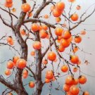 "Hand painted oil painting on canvas""persimmon""60x90CM(23.6""x35.4"")Unframed-07"
