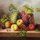 "Hand painted oil painting on canvas""bumper harvest fruits""50x60CM(19.7""x23.6"")Unframed-14"
