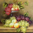"Hand painted oil painting on canvas""bumper harvest fruits""50x60CM(19.7""x23.6"")Unframed-16"