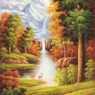 "American style Hand painted oil painting on canvas""Creek""60x120CM(23.6""x47.2"")Unframed-37"