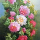 """Simple modern Hand painted oil painting on canvas""""Flowers""""60x90CM(23.6""""x35.4"""")Unframed-20"""