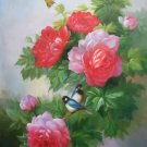"""Simple modern Hand painted oil painting on canvas""""Flowers""""60x90CM(23.6""""x35.4"""")Unframed-22"""