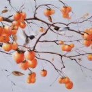 "Hand painted oil painting on canvas""persimmon""60x120CM(23.6""x47.2"")Unframed-14"
