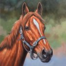 """Hand painted oil painting on canvas""""Akhal-teke horses""""50x60CM(19.7""""x23.6"""")Unframed-13"""