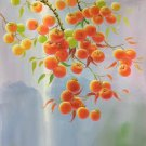 "Hand painted oil painting on canvas""persimmon""60x90CM(23.6""x35.4"")Unframed-20"