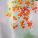 """Hand painted oil painting on canvas""""persimmon""""60x90CM(23.6""""x35.4"""")Unframed-22"""