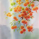 "Hand painted oil painting on canvas""persimmon""60x90CM(23.6""x35.4"")Unframed-25"