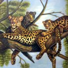 "Simple modern Hand painted oil painting on canvas""Cheetah""60x120CM(23.6""x47.2"")Unframed-01"