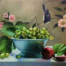 """Hand painted oil painting on canvas""""bumper harvest fruits""""60x90CM(23.6""""x35.4"""")Unframed-53"""
