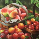 "Hand painted oil painting on canvas""bumper harvest fruits""60x90CM(23.6""x35.4"")Unframed-62"