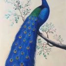 "Simple modern Hand painted oil painting on canvas""Gorgeous peacock""60x120CM(23.6""x47.2"")Unframed-17"