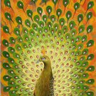 "Simple modern Hand painted oil painting on canvas""Gorgeous peacock""60x120CM(23.6""x47.2"")Unframed-24"