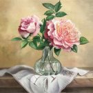 """Simple modern Hand painted oil painting on canvas""""Potted flowers""""50x60CM(19.7""""x23.6"""")Unframed-40"""