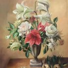 """Simple modern Hand painted oil painting on canvas""""Potted flowers""""50x60CM(19.7""""x23.6"""")Unframed-41"""