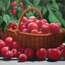 "Hand painted oil painting on canvas""bumper harvest fruits""60x90CM(23.6""x35.4"")Unframed-66"