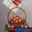 """Hand painted oil painting on canvas""""bumper harvest fruits""""60x90CM(23.6""""x35.4"""")Unframed-68"""