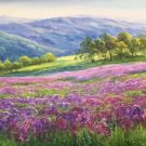 """American style Hand painted oil painting on canvas""""Creek""""70x180CM(27.6""""x70.9"""")Unframed-108"""