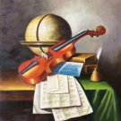 "Simple modern Hand painted oil painting on canvas""violin""50x60CM(19.7""x23.6"") Unframed-13"