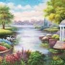 """European style Hand-painted oil painting on canvas""""mind home""""70x180CM(27.6""""x70.9"""")Unframed-28"""