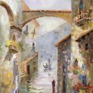 "European style Hand painted oil painting on canvas""Venice""60x90CM(23.6""x35.4"")Unframed-14"