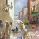 "European style Hand painted oil painting on canvas""Venice""60x90CM(23.6""x35.4"")Unframed-22"