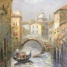 "European style Hand painted oil painting on canvas""Venice""60x90CM(23.6""x35.4"")Unframed-23"