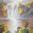 "Hand painted oil painting on canvas""Cute bird""60x120CM(24""x48"")Unframed-26"