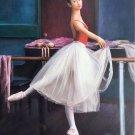 "European style Body Art Hand painted oil painting on canvas""Ballet girl""50x60CM(20""x24"")Unframed-01"
