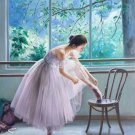 "European style Body Art Hand painted oil painting on canvas""Ballet girl""50x60CM(20""x24"")Unframed-03"