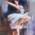 "European style Body Art Hand painted oil painting on canvas""Ballet girl""60x90CM(24""x36"")Unframed-04"