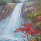 """Hand painted oil painting on canvas""""Creek""""70x100CM(30""""x40"""")Unframed-235"""