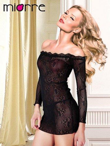 Women Lace Short Nightwear Sleepwear S String Gown Sexy Dress Set Lingeri