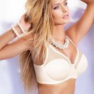 Miorre Luxury Non Padded Sexy Underwire Multiway Plunge Minimizer Bra
