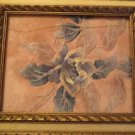 "Vtg Ornate Lemon Wood Gold Picture Frame 18"" x 14"""