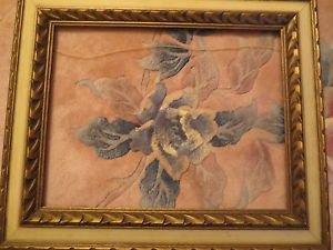 """Vtg Ornate Lemon Wood Gold Picture Frame 18"""" x 14"""""""