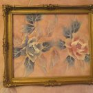 Vintage Ornate Gilt Gesso Wood Picture Frame Fits 22x18 Art Overall 26x22""