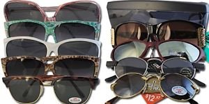 Sunglasses New With Tags For Resell 600 pcs Per Lot Wholesale Lots