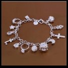 Costume jewelry - Beautiful charm bracelet