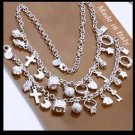 Costume jewelry - Charm necklace
