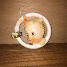 Goebel Hummel wall plaque baa-bee baby B