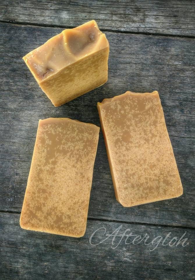 Buttermilk Bastille Soap - Cold Process - Carrots - Aftergloh