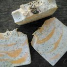 Lemon Poppy seed Soap - Cold Process Soap - Aftergloh - Lemon Soap