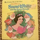 Golden Tell-A-Tale Book Walt Disney's Snow White and the Seven Dwarfs 1957 VGUC