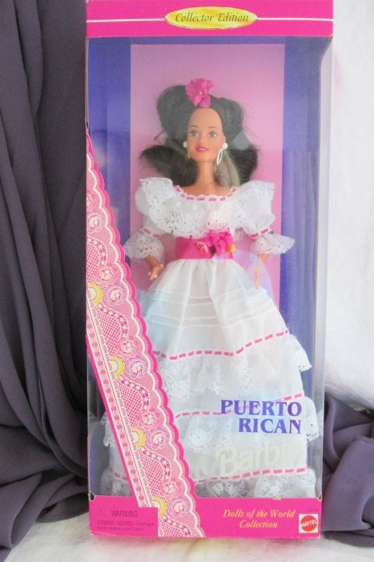 Puerto Rican Barbie Doll 1996 Vintage Mattel Dolls of the World Collection NRFB