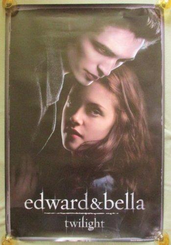 Twilight Saga Edward & Bella Poster 24x36 Robert Pattinson Kristin Stewart