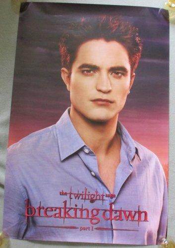 Twilight Saga Edward Portrait Breaking Dawn Pt 1 Poster 22x34 Robert Pattinson