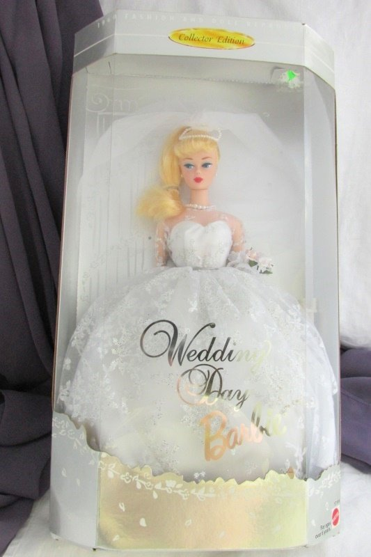 Wedding Day Barbie Doll 1996 Vintage Mattel Blond Collectors Edition NRFB