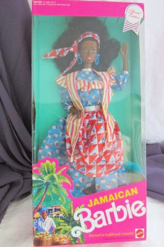 Jamaican Barbie Doll 1991 Vintage Mattel  Dolls of the World Collection NRFB